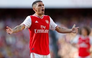Arsenal fans complain about Unai Emery's decision to leave Lucas Torreira out
