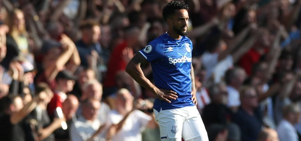 Everton fans question why Marco Silva included Theo Walcott in his starting XI