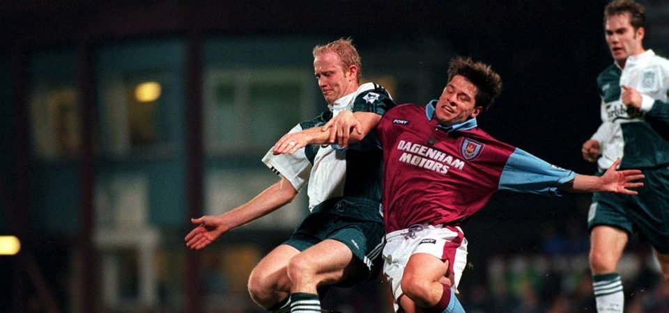 Exclusive: Tony Cottee reveals who he would rather play with out of his former teams' strikers