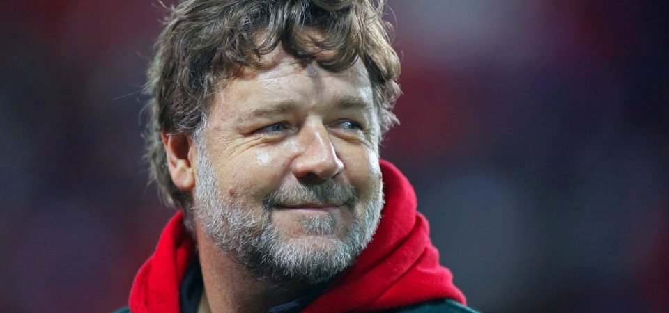 Leeds United wished happy birthday by Hollywood star and fan Russell Crowe