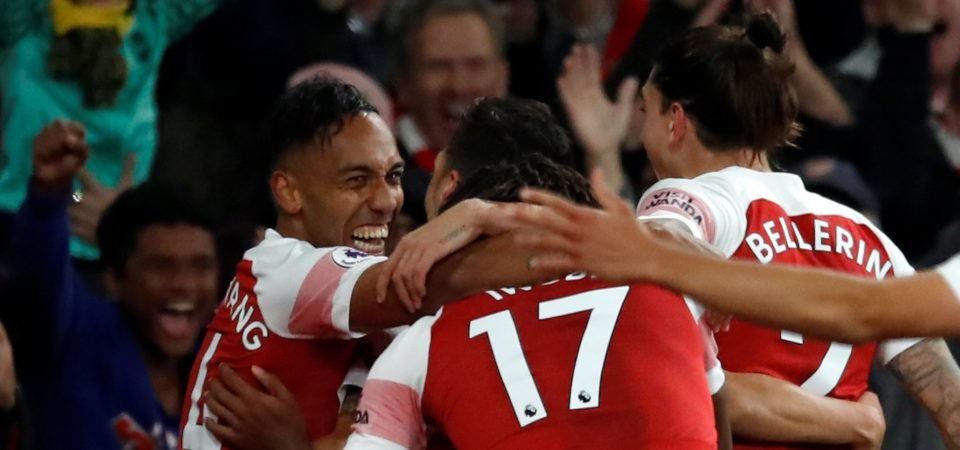 """Arsenal fans describe goal against Leicester last season as a """"symphony orchestra"""""""