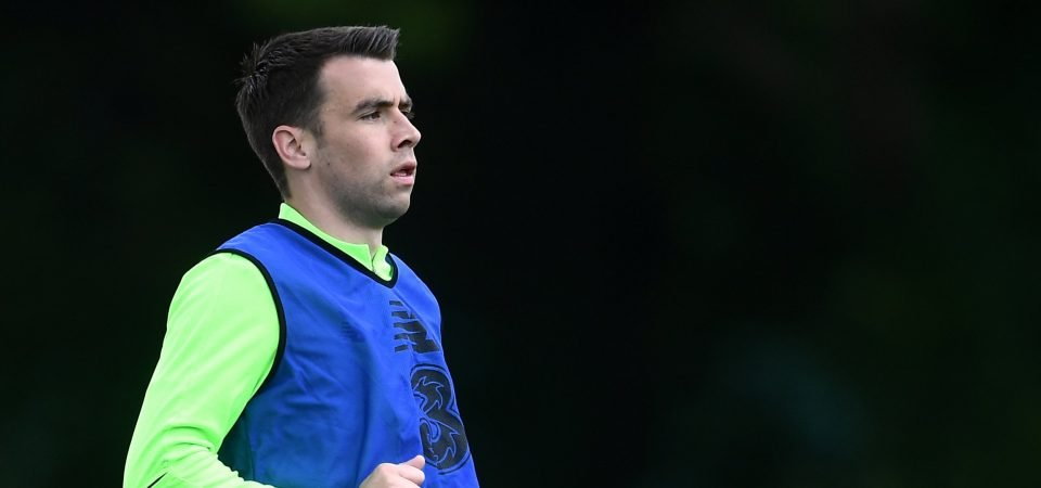 Everton defender Seamus Coleman is slammed by Ireland fans after draw v Georgia