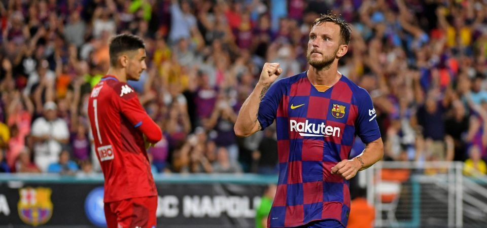 Barcelona's Ivan Rakitic publicly expresses his discontent amidst low game time