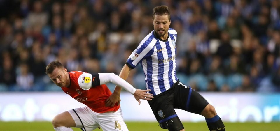Sheffield Wednesday's praised man Julian Borner offers a threat in both boxes