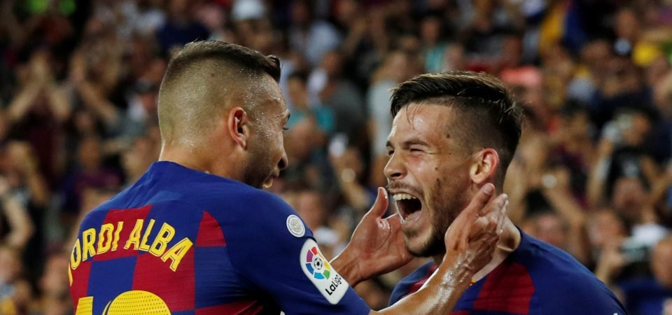 Barcelona could be getting their spark back with Jordi Alba's return