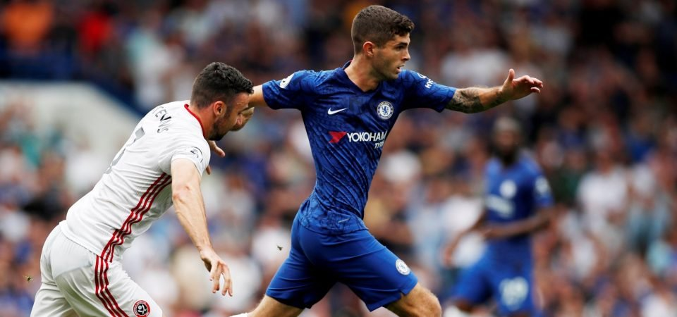Chelsea fans want Christian Pulisic to start against Burnley
