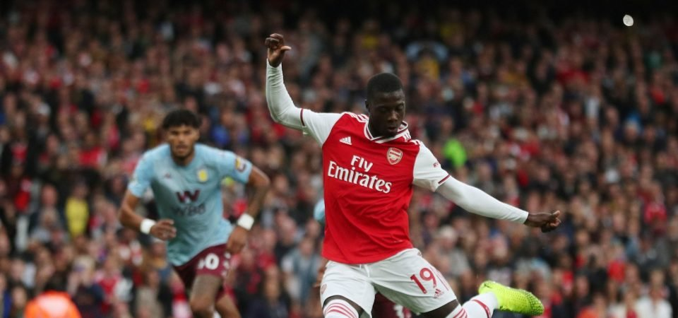 In defence of Nicolas Pepe: The Arsenal 'flop' still daring to take risks