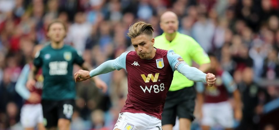Aston Villa's Jack Grealish faces stiff int'l competition after position change