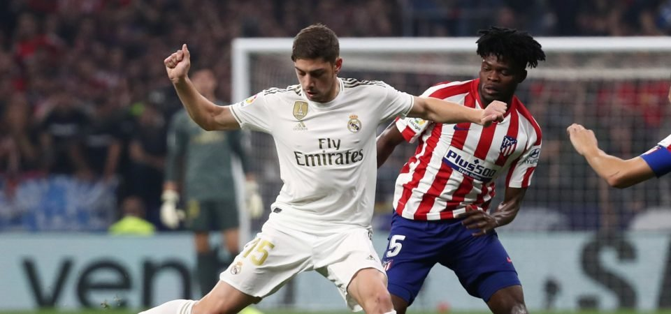 Real Madrid's Federico Valverde could be their very own Paul Pogba