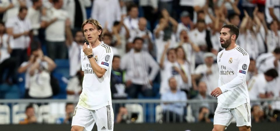 Real Madrid's Luka Modric will have to lead his team to victory vs Granada