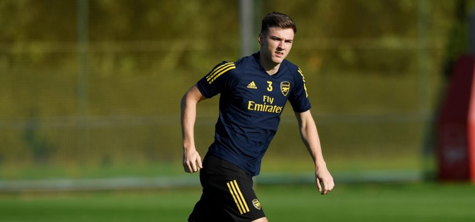 Arsenal defender Kieran Tierney available for Sheffield United clash