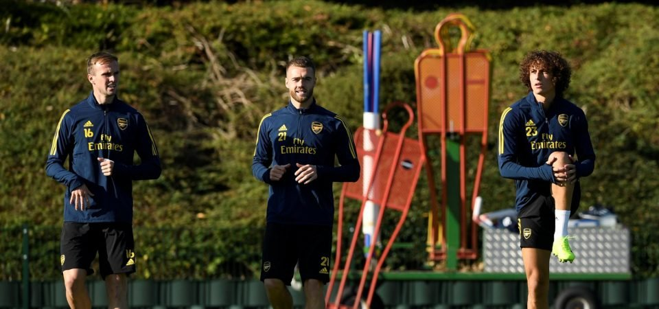 Arsenal's David Luiz caught out in training after dubious race results revealed