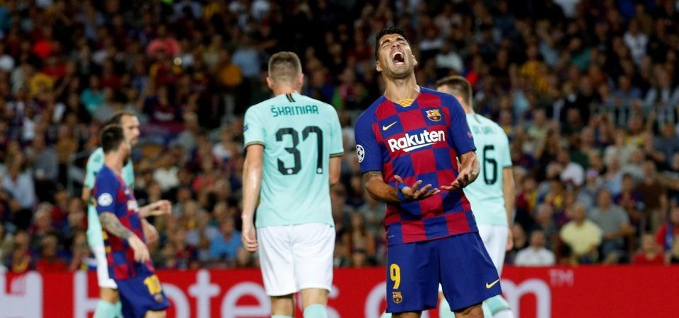 Barcelona should bench Luis Suarez vs Sevilla despite heroics vs Inter