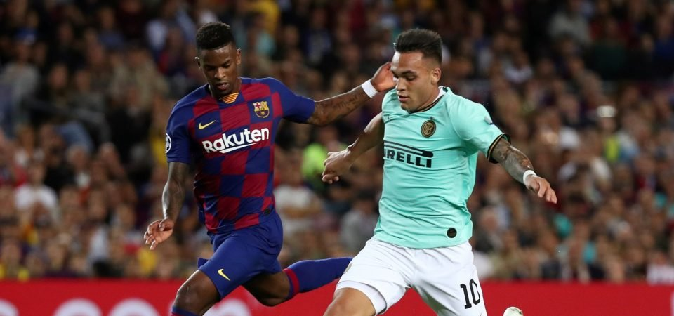 Barcelona's Nelson Semedo tallied another great performance at left-back