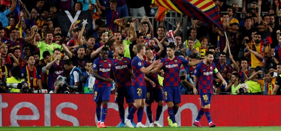 Barcelona have huge problems in their attacking phase