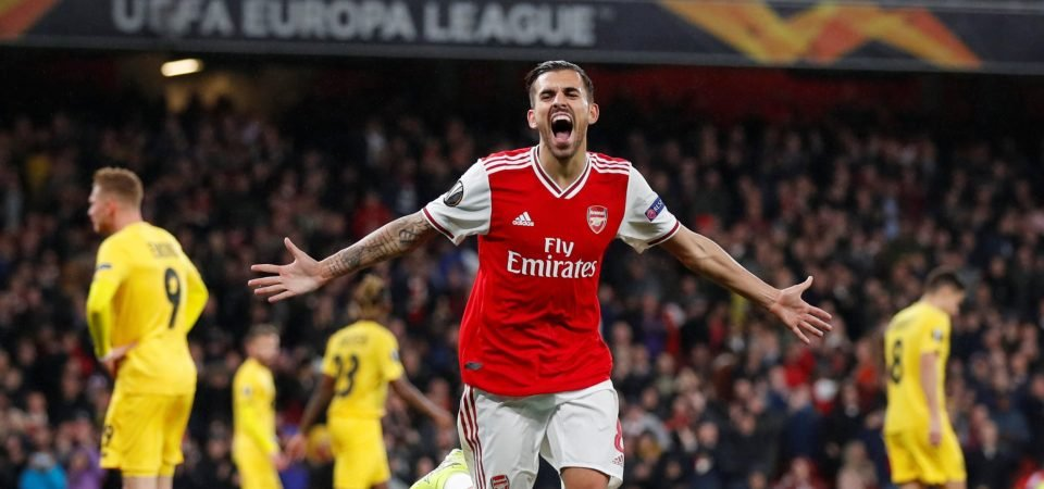Arsenal fans pleased to see Dani Ceballos preparing for busy schedule