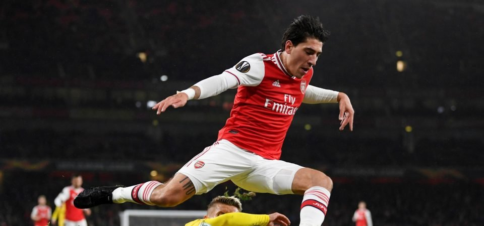 Arsenal fans delighted as Hector Bellerin is named captain on Thursday