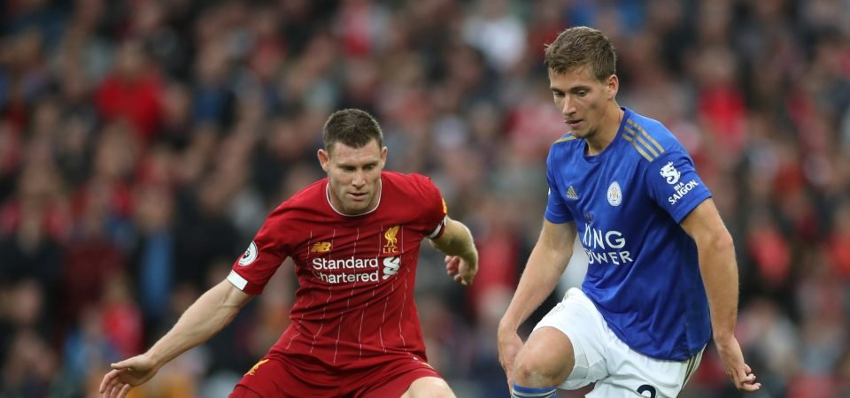 Leicester fans hail Dennis Praet after defeat at Anfield