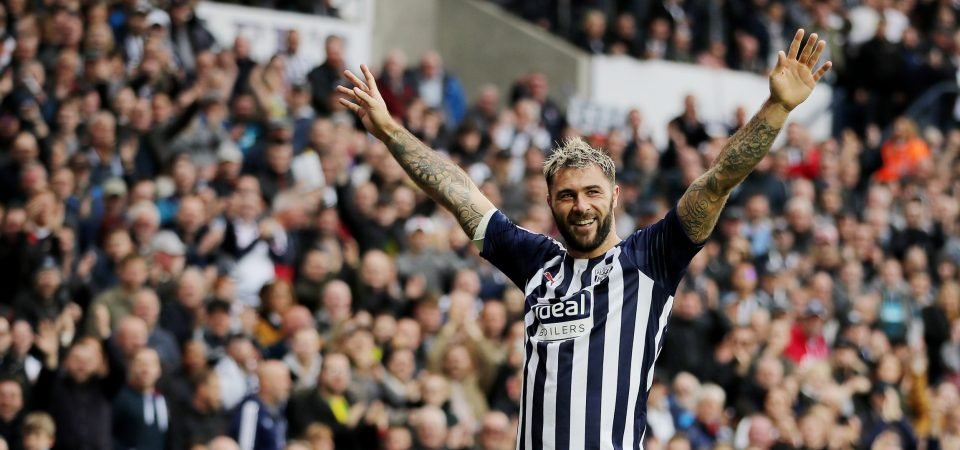 West Brom fans are loving Charlie Austin after scoring his first league goal