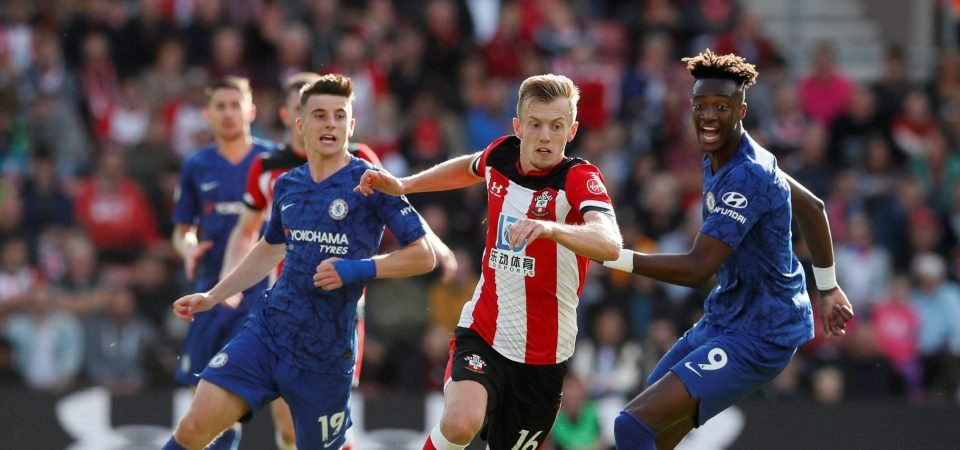 Southampton fans fume at James Ward-Prowse's display in loss to Chelsea