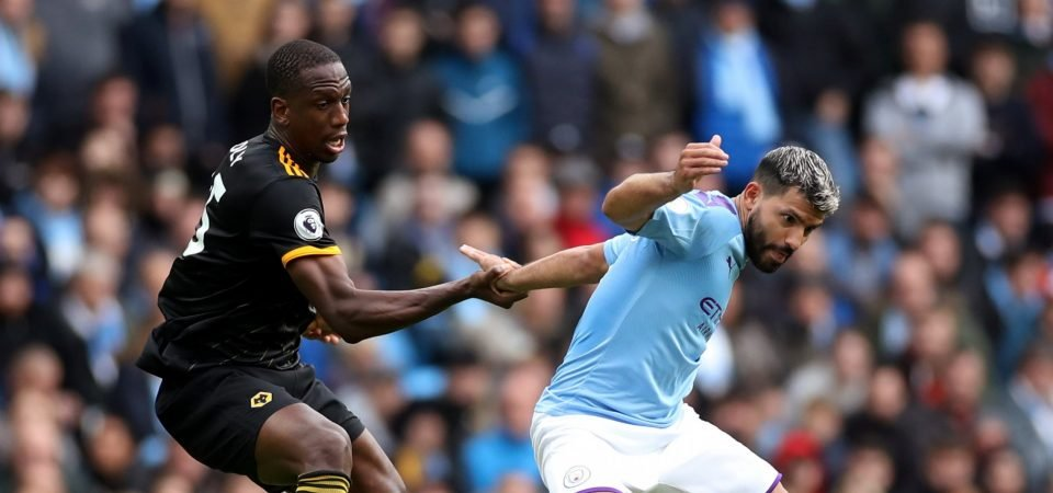 Wolves fans adored Willy Boly's display in shock win over Man City