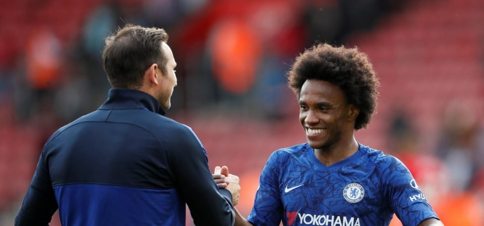 Chelsea's Willian shows experience matters against Southampton