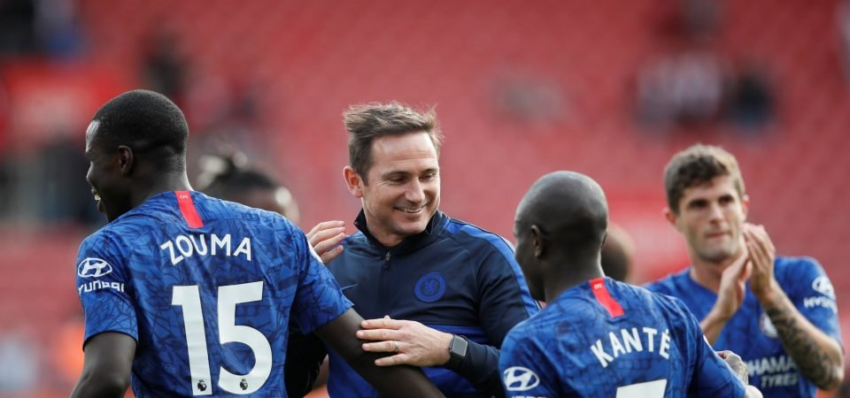 Chelsea improved significantly in the air against Southampton