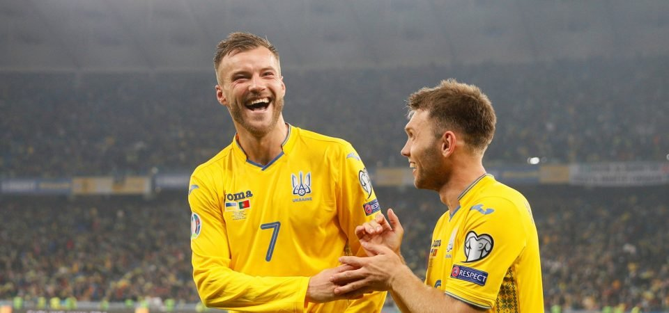 Andriy Yarmolenko shows for Ukraine his versatility could be useful for West Ham
