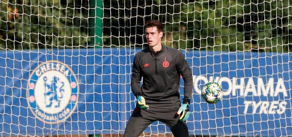 Chelsea fans delighted as Kepa Arrizabalaga is nominated for the Yashin Award