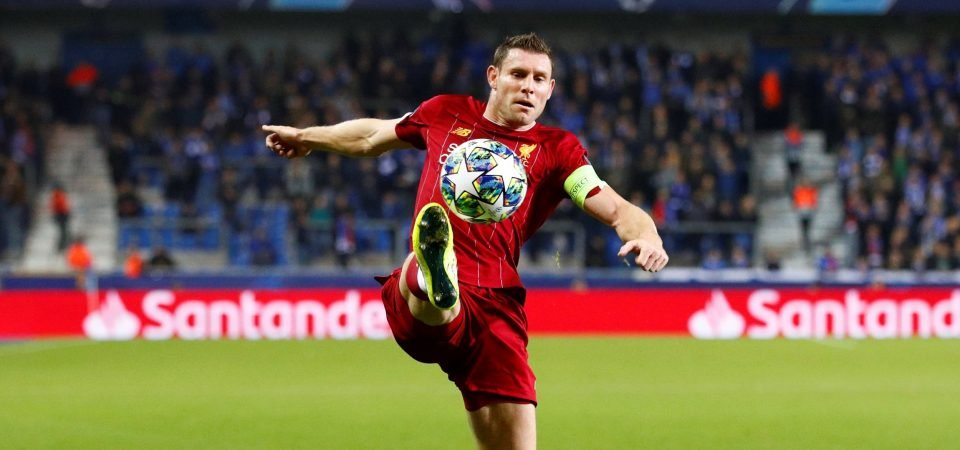 Liverpool's James Milner proved once more than he can do just about anything