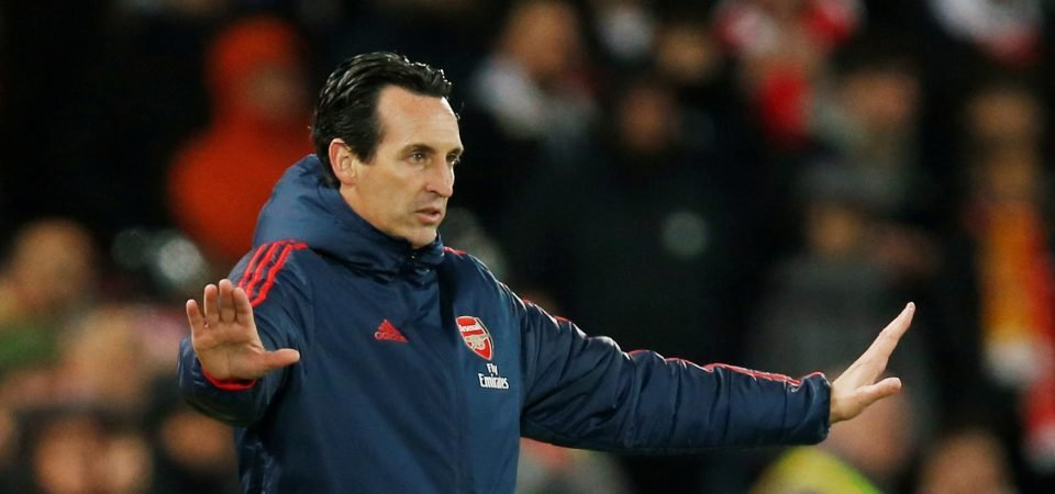 Arsenal fans slam Unai Emery's substitutions against Liverpool