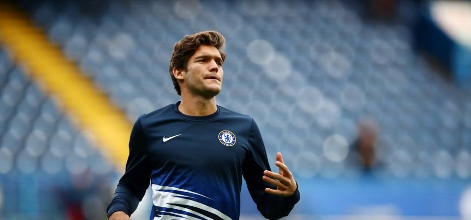Chelsea fans slam Marcos Alonso's efforts in EFL Cup exit to Manchester United