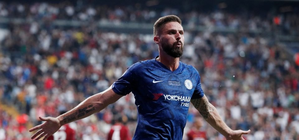 Aston Villa fans desperately want them to sign Chelsea striker Olivier Giroud