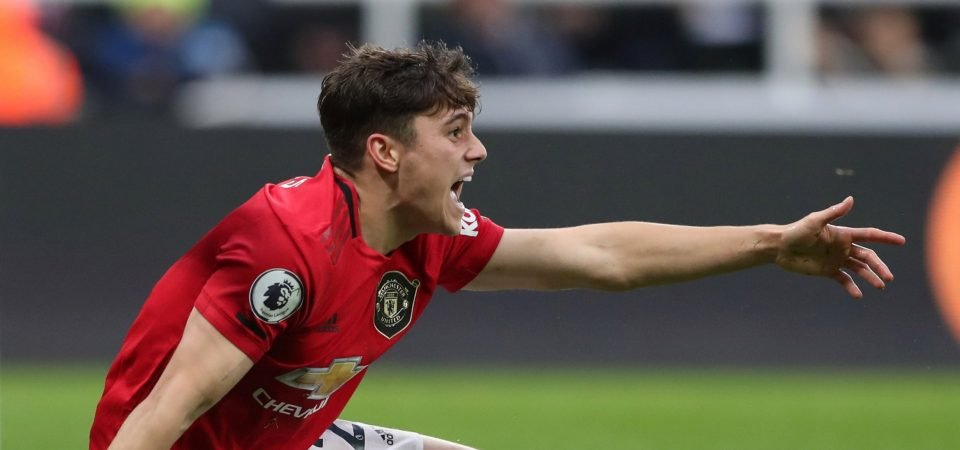 Man Utd fans slam Daniel James after disastrous performance against Aston Villa