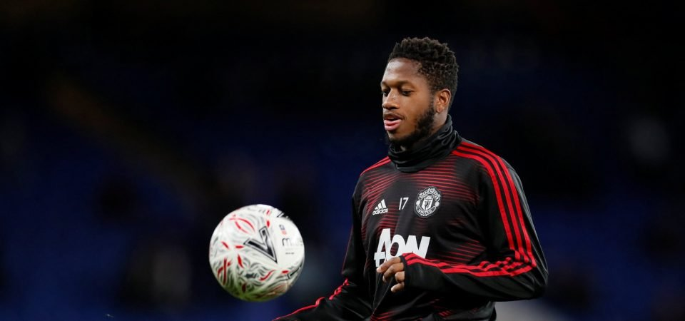 Man Utd would be foolish to sell Fred despite struggles with form