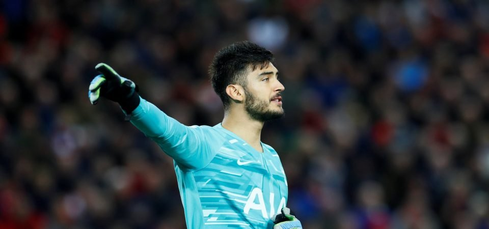 Spurs fans surprised by Paulo Gazzaniga's Argentina omission