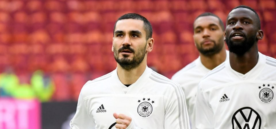 Man City's Ilkay Gundogan puts in excellent display for Germany