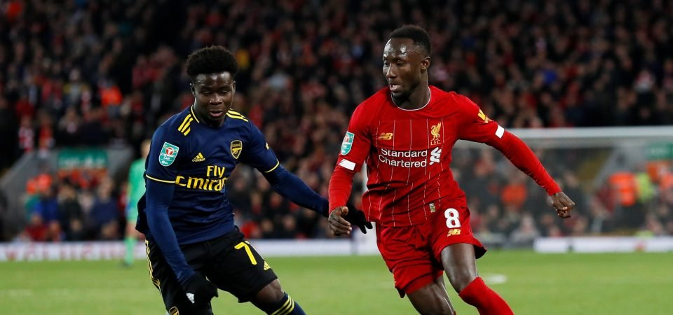 Liverpool fans growing concerned with Naby Keita after latest injury scare