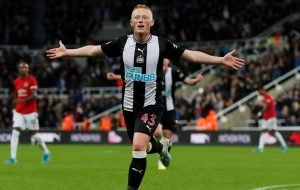 Newcastle's Matty Longstaff is set to be scouted by European clubs