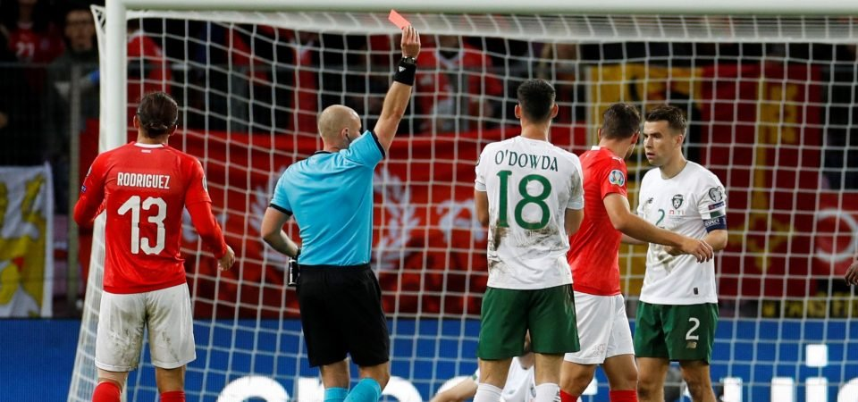 Republic of Ireland fans rip into Seamus Coleman following Switzerland display