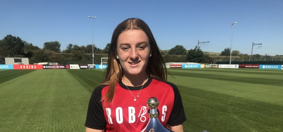 Bristol City Women's Sophie Baggaley says last year stands out as a career highlight