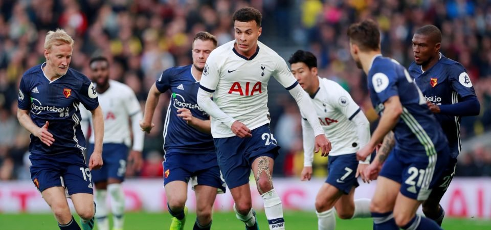 Tottenham's Dele Alli should have swagger about him in training, says Jamie Redknapp