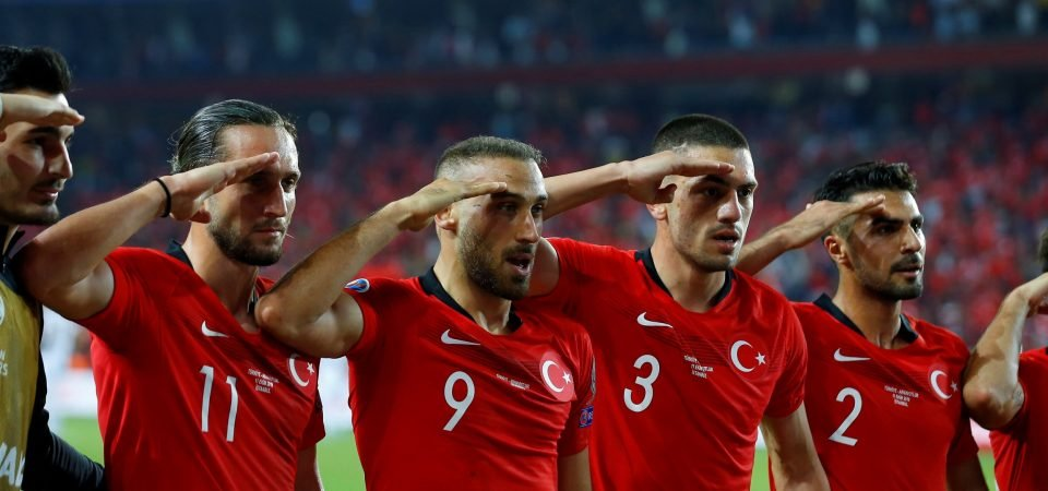 Everton fans discuss if club should take action over Cenk Tosun's military salute celebration