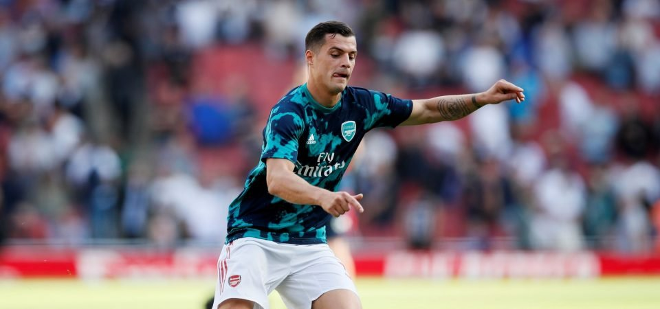Arsenal fans fume at Granit Xhaka
