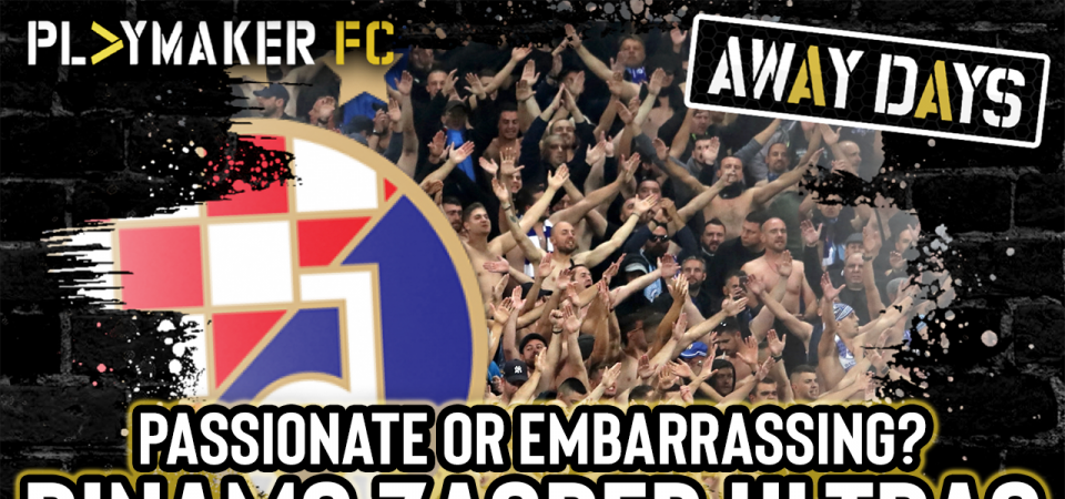 Pl>ymaker FC's Thogden and Anthony capture the moment Zagreb ultras bare all