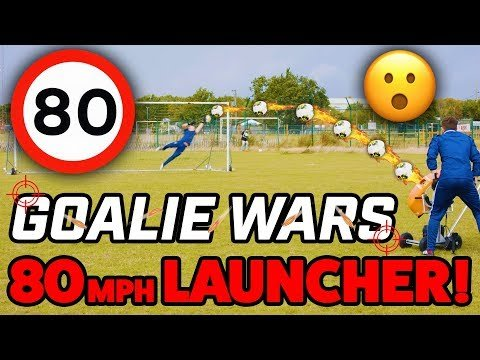 INSANE BALL LAUNCHER! - GOALIE WARS