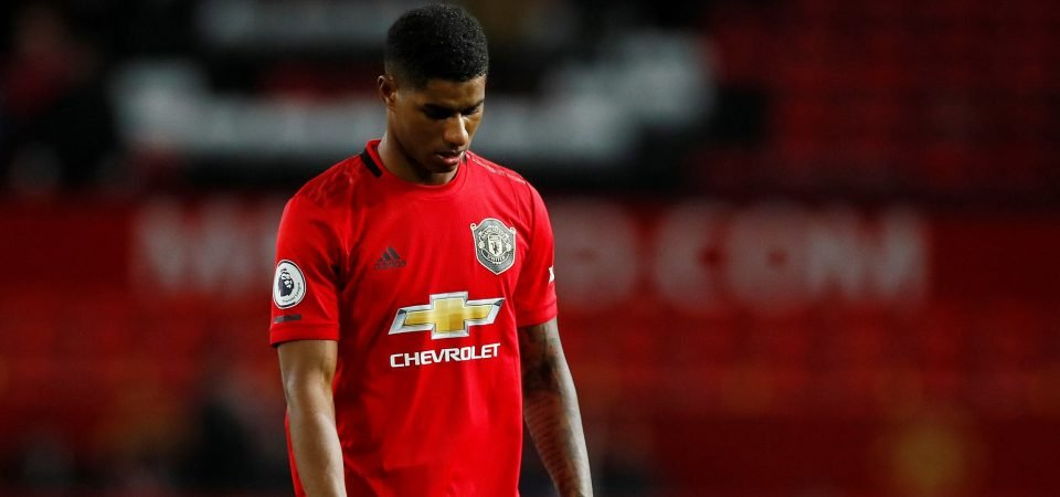 Manchester United must take Marcus Rashford out of the firing line