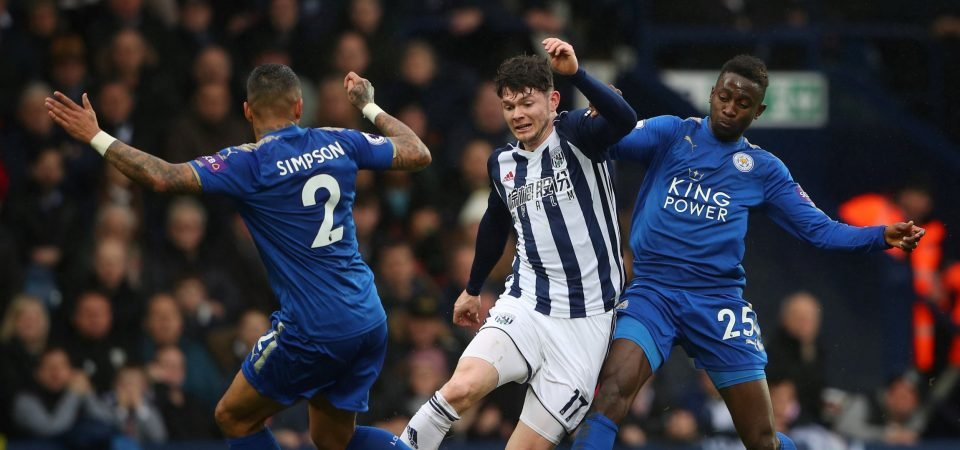 West Brom's Oliver Burke proves just how difficult their task is in the summer