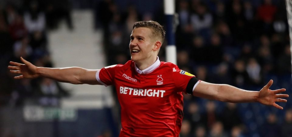 Nottingham Forest fans drool over Ryan Yates after his return to the starting XI