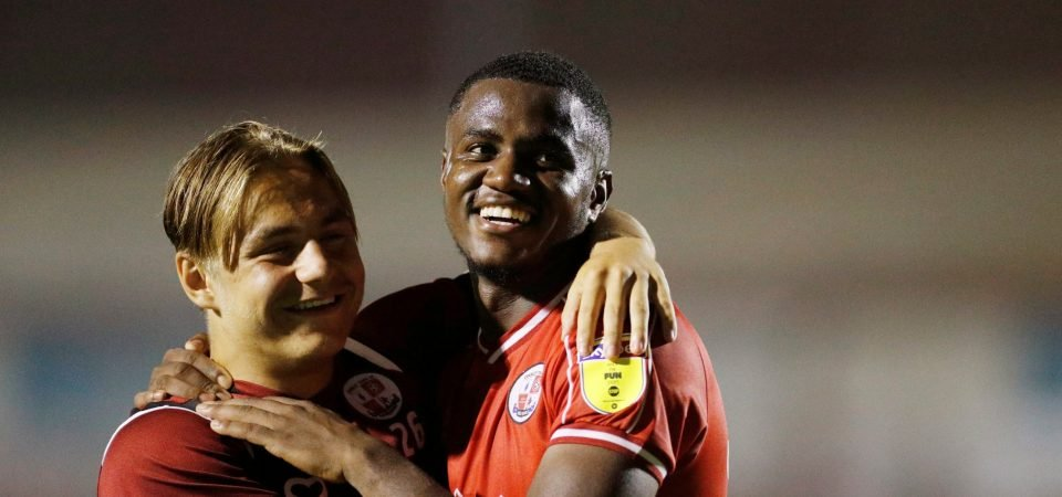 Sheffield Wednesday target Bez Lubala continues to impress at Crawley Town